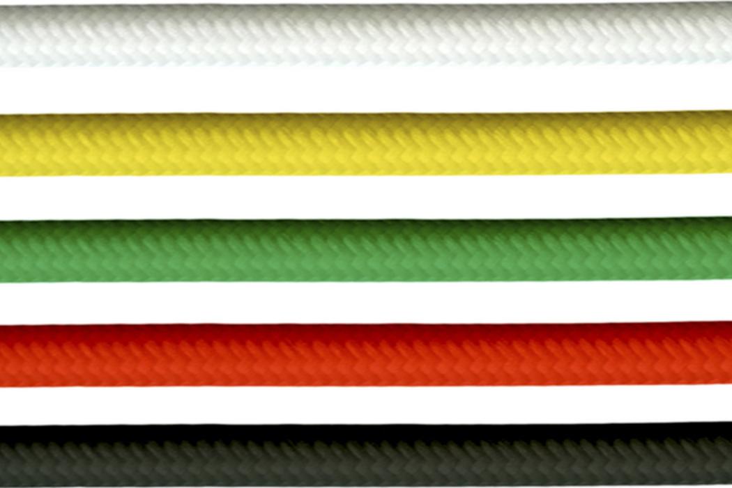 Абсолютная новинка 9010novantadieci – линейка цветных подвесов (кабелей) для итальянских гипсовых светильников