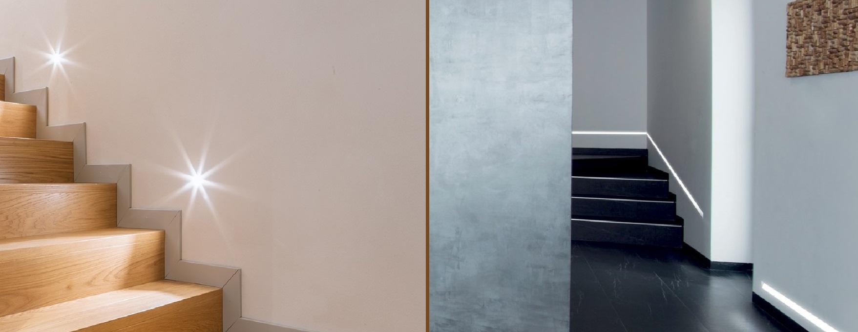Подсветка лестницы – модное дизайнерское решение или жизненная необходимость?